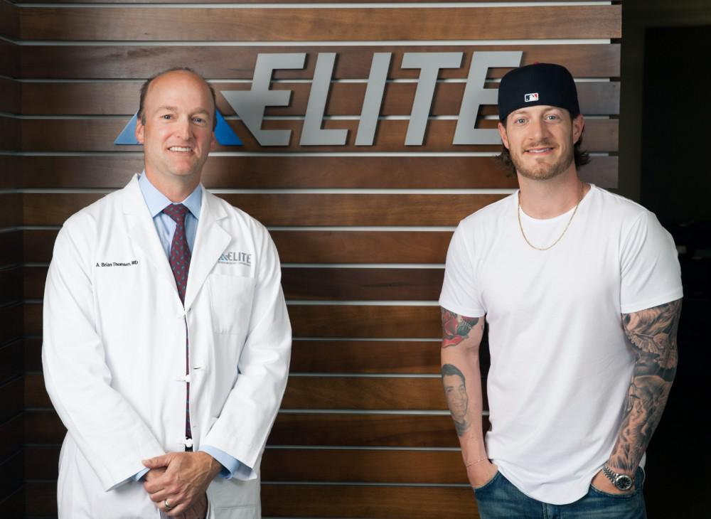 Tyler Hubbard and Dr. Thomson