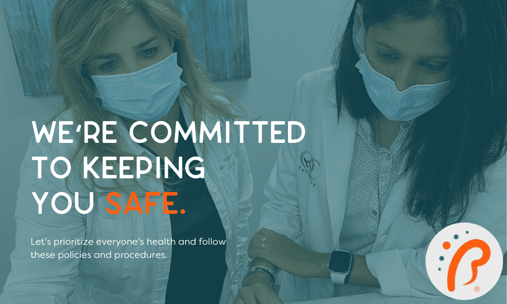 Our doctors are committed to keeping you safe from COVID-19 while in our office