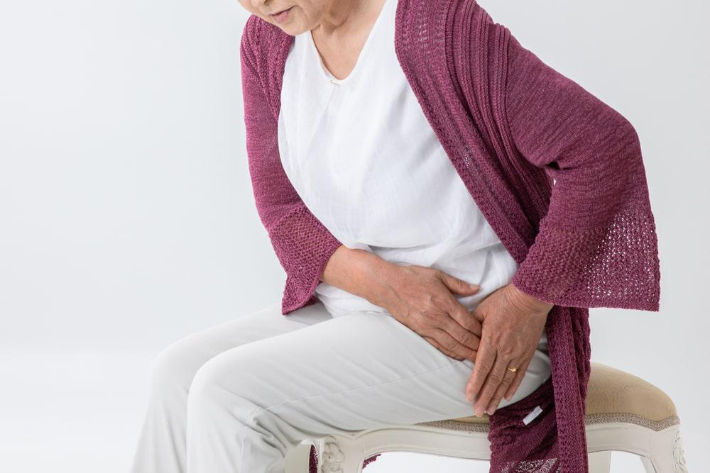 Patient Experiencing Hip Pain