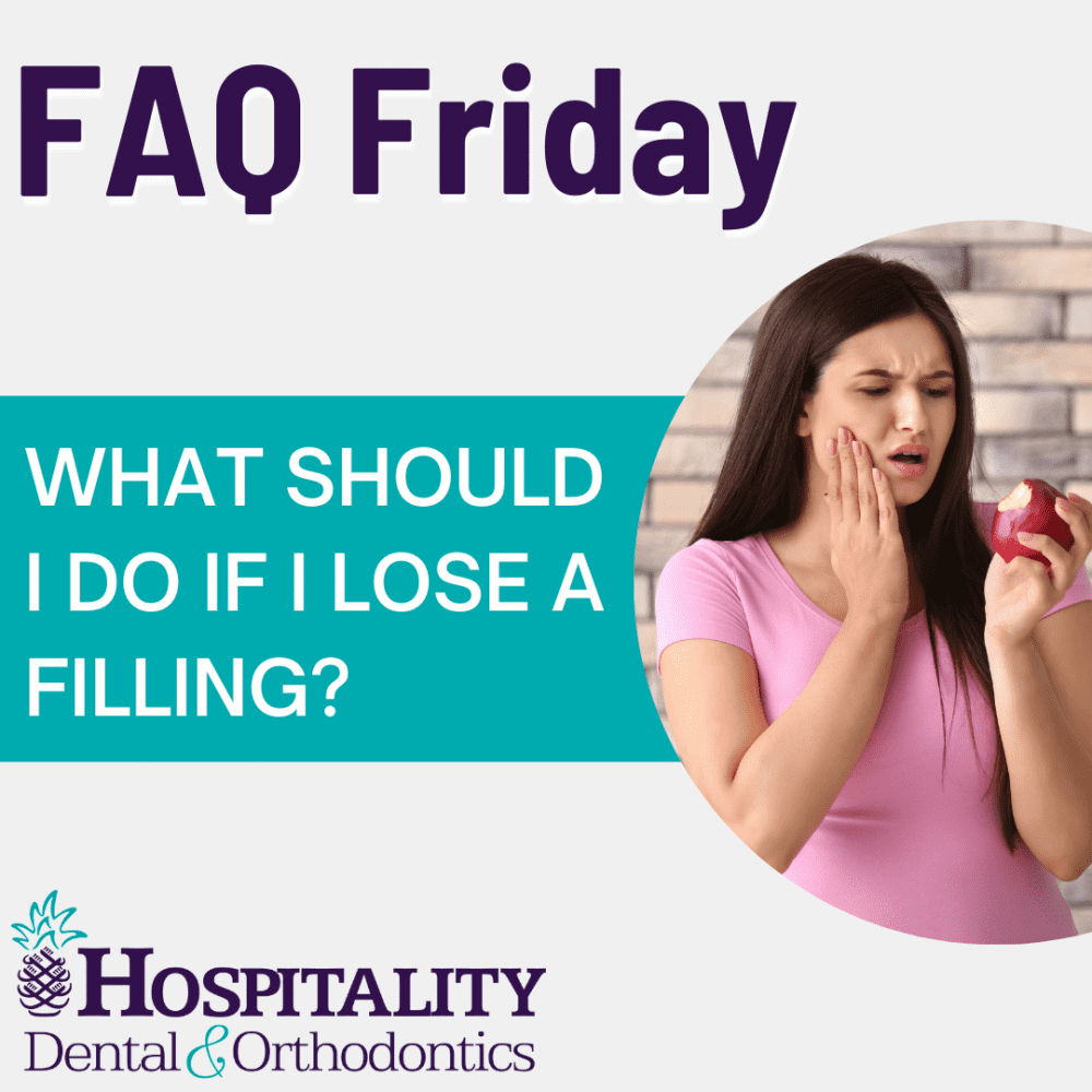 faq friday what should i do if i lose a filling