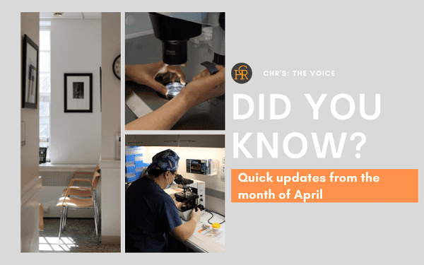 Did you know? April 2021