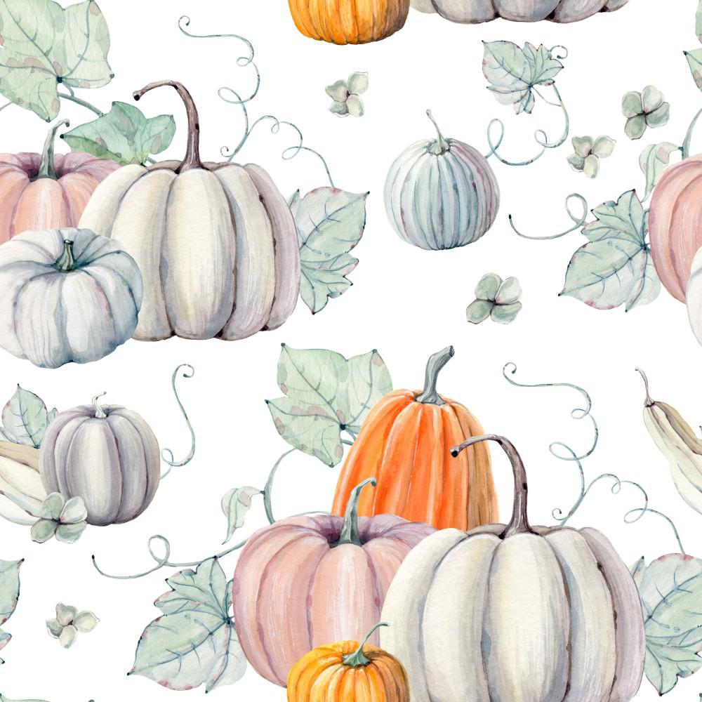 Illustration of pumpkins