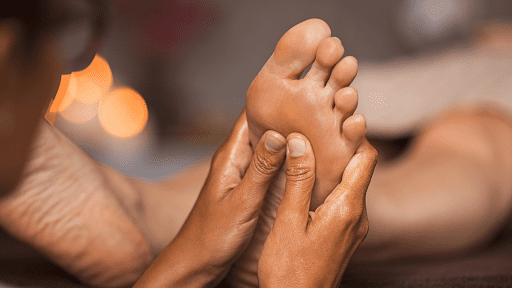 Foot Reflexology Massage at Enhance MD Body & Skin Clinic