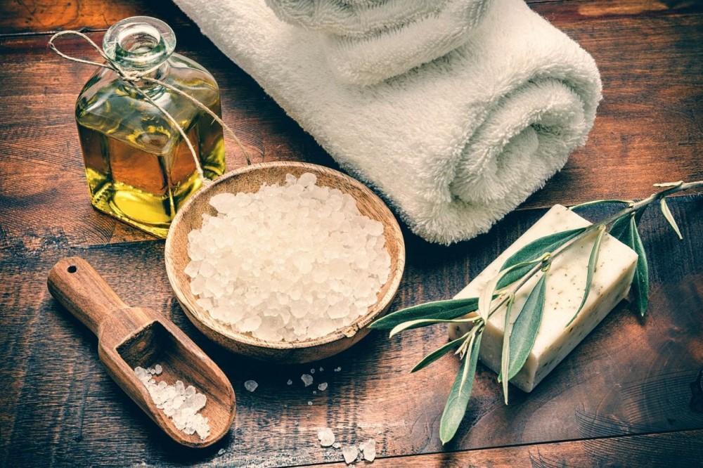 Recipe for a Salt Scrub