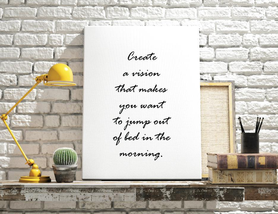 Inspirational Quote: Vision