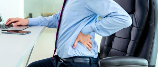 9 Ways To Minimize Back Pain At Your Desk