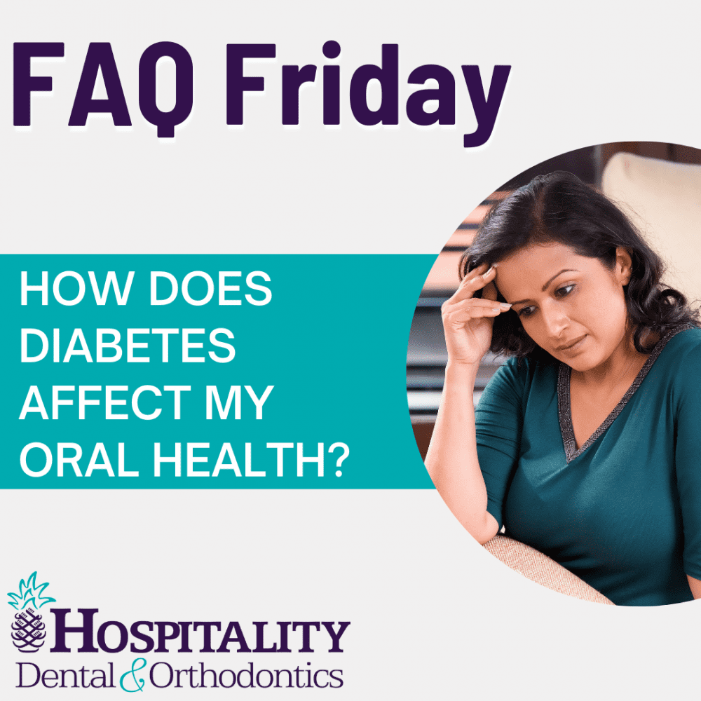 faq friday how does diabetes affect my oral health