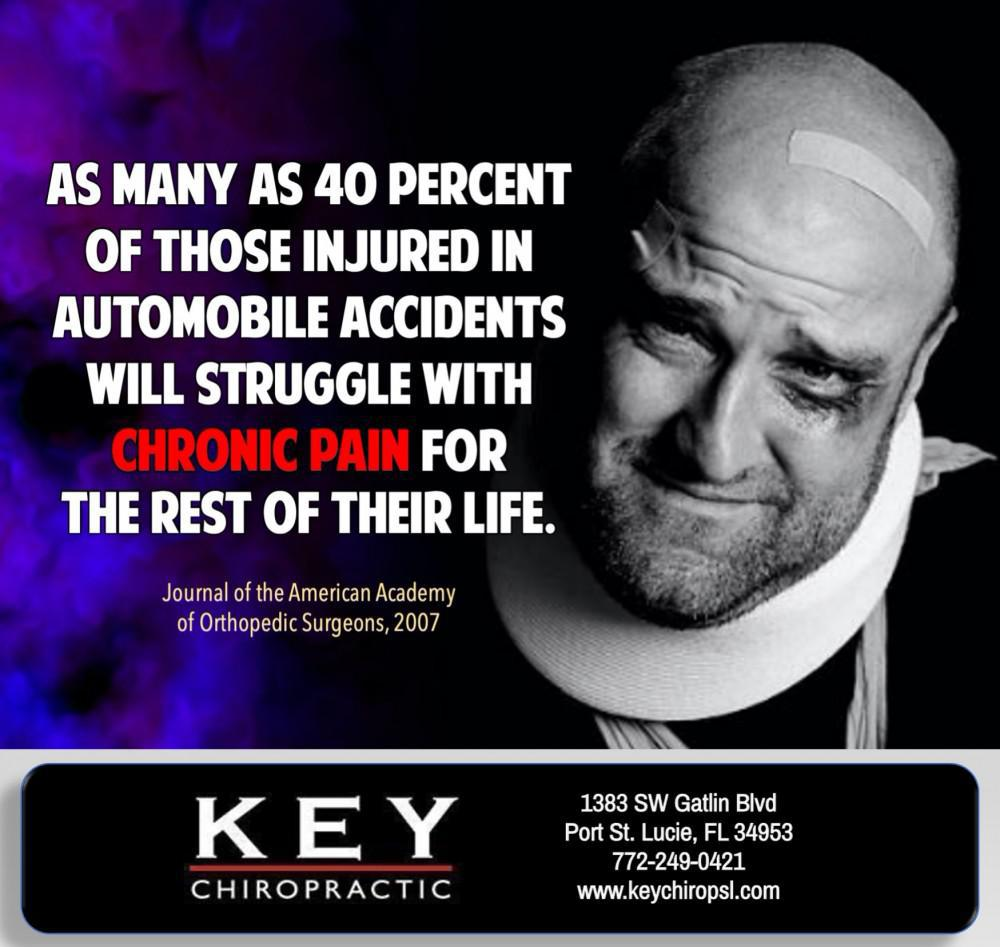 Auto accidents and chronic pain