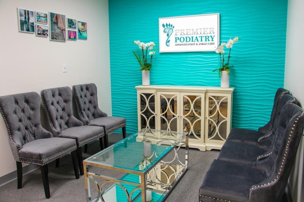 premier podiatry waiting room